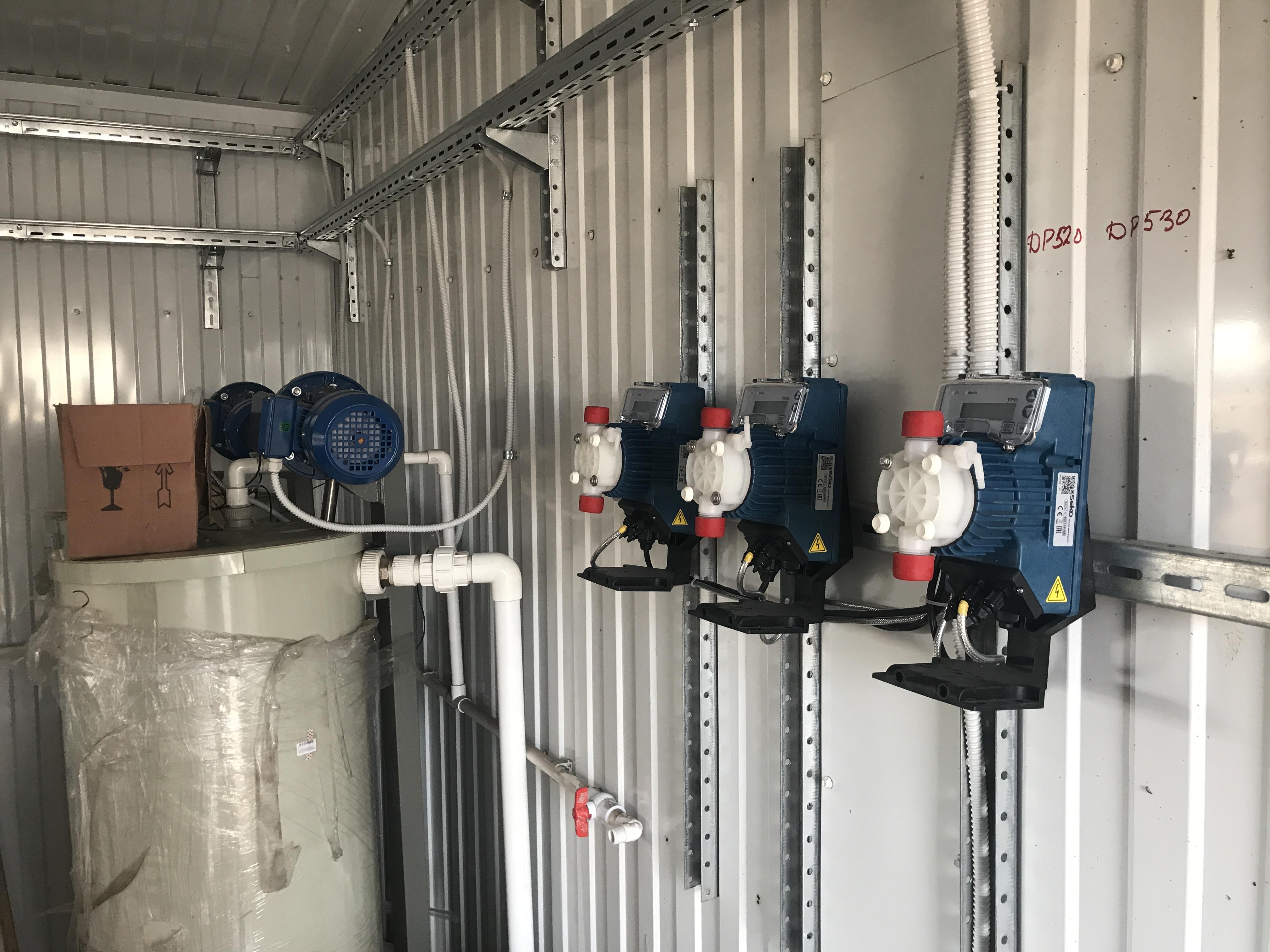 Очищення стічних вод.  Повна автоматизація систем управління очисними спорудами.